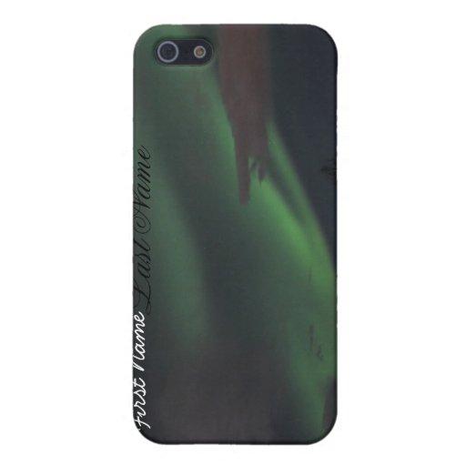 Demostración de la aurora boreal; Personalizable iPhone 5 Carcasas