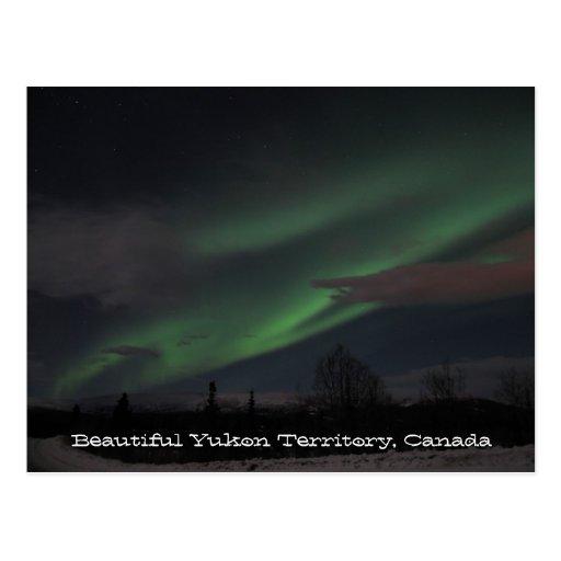 Demostración de la aurora boreal; Recuerdo del Postal