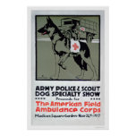 Demostración de la especialidad del perro (US00277 Posters