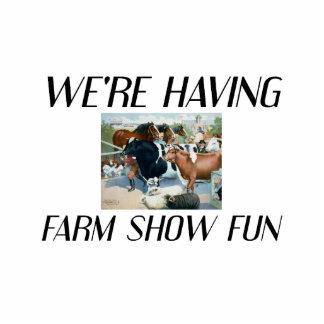 Demostración de la granja de la CAMISETA Esculturas Fotograficas