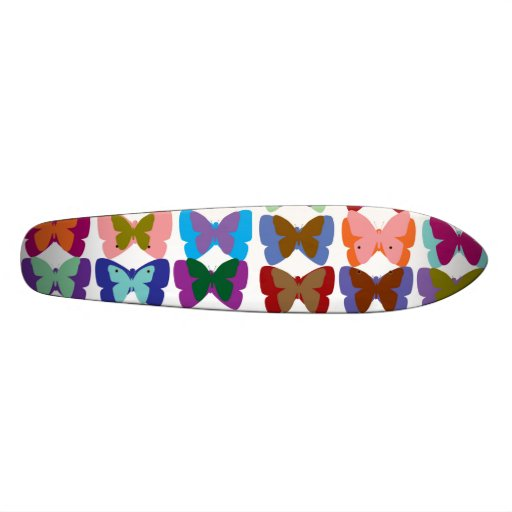 Demostración de la mariposa patin