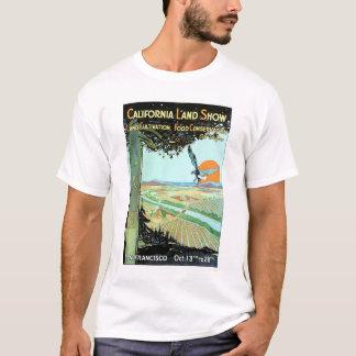 Demostración de la tierra de California en San Playera