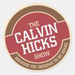 Demostración de los catetos de Calvin Etiquetas Redondas