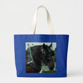 demostración del caballo de proyecto del va del cu bolsas lienzo