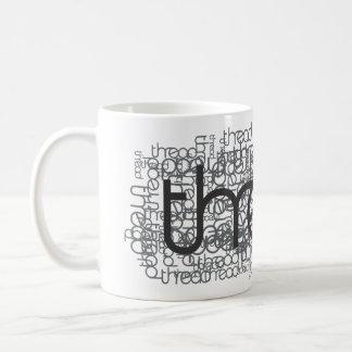 Demostración del hilo taza de café