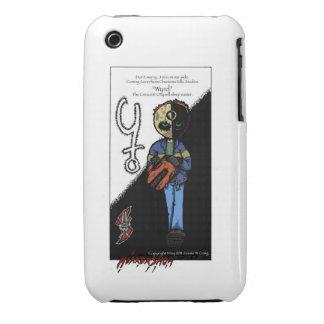 Demostración del horror, wyrd iPhone 3 Case-Mate coberturas