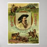 Demostración del oeste salvaje de Buffalo Bill del Poster
