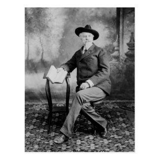 Demostración del oeste salvaje de Buffalo Bill Postal