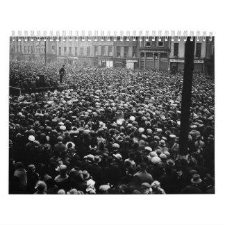 Demostración libre 1922 del estado de Michael Coll Calendario