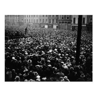 Demostración libre 1922 del estado de Michael Coll Postales