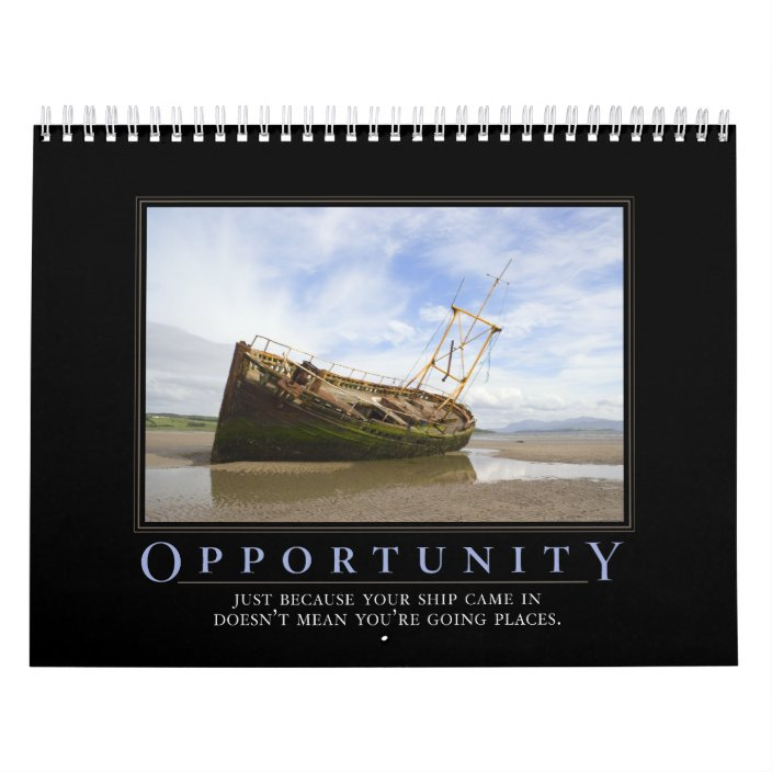 Demotivational Calendar Calendar | Zazzle.com