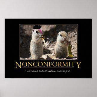 Demotivational Poster Nonconformity