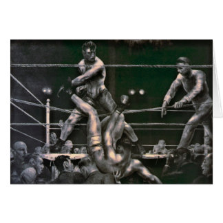 Dempsey and Firpo 1923 Card