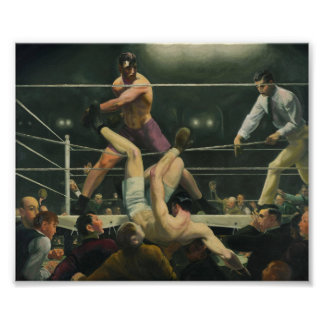 Dempsey and Firpo Boxing - George Bellows Poster
