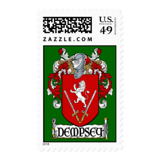 Dempsey Coat of Arms Postage Stamps