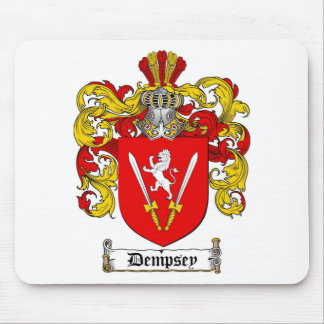 DEMPSEY FAMILY CREST -  DEMPSEY COAT OF ARMS MOUSE PAD