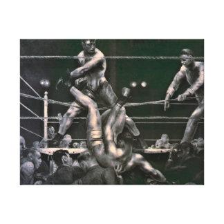 Dempsey y Firpo 1923 Impresiones En Lona