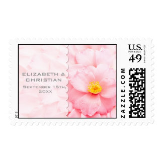 Demure Floral SAVE THE DATE  Postage