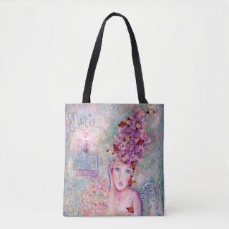 Demure Marie Tote Bag