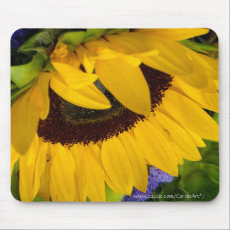 Demure Sunflower.2 Mouse Pad
