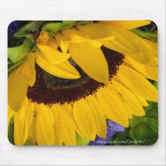 Demure Sunflower.2 Mousepads