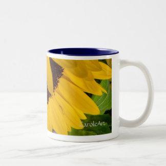 Demure Sunflower 2. Coffee Mugs