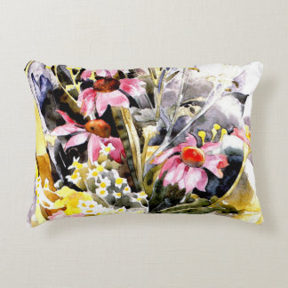Demuth - African Daisies Accent Pillow