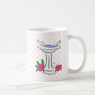 Den & Deen Doves Classic White Coffee Mug