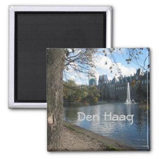 Den Haag 2 Inch Square Magnet