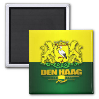 Den Haag (The Hague) 2 Inch Square Magnet