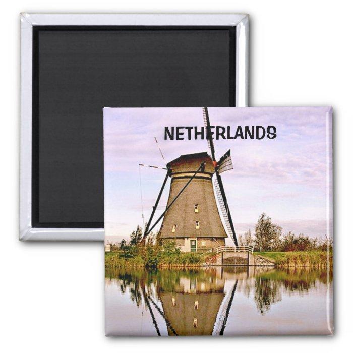 DEN HAAG THE  NETHERLANDS 2 INCH SQUARE MAGNET