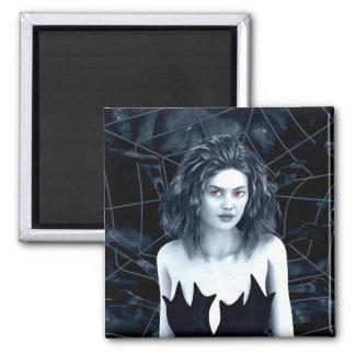 Den Mother Gothic Art Fridge Magnet
