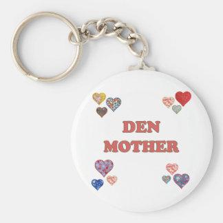 Den Mother Keychain