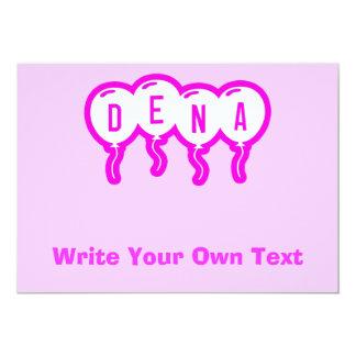 Dena 5x7 Paper Invitation Card