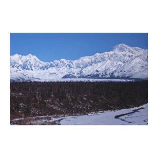Denali 9323 stretched canvas prints