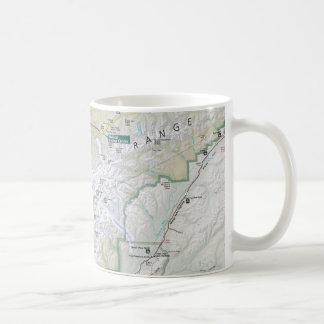Denali (Alaska) map mug