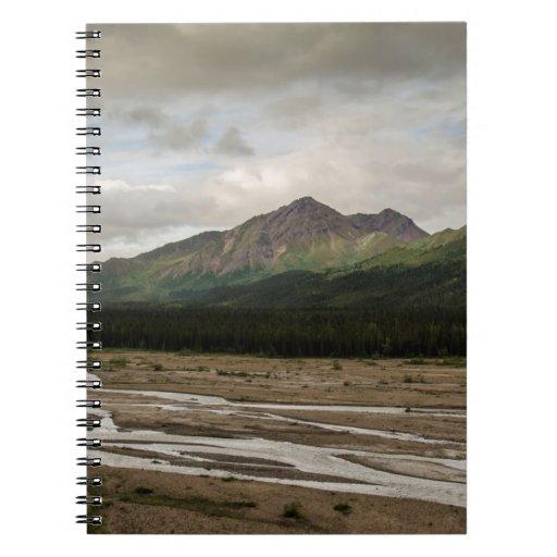 Denali Braided River Landscape Notebook