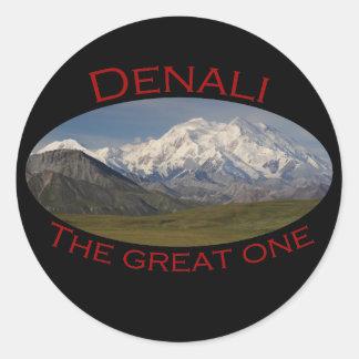 Denali Classic Round Sticker