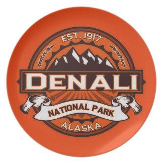 Denali Color Logo Dinner Plate