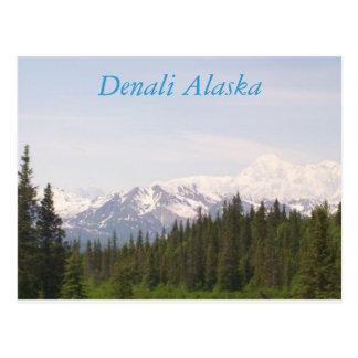 Denali, Denali Alaska Postcard
