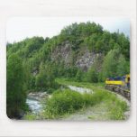 Denali Express Alaska Train Vacation Photography Mouse Pad