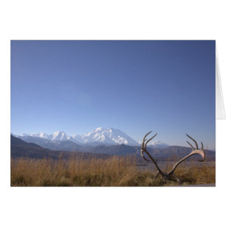 Denali from Eielson Visitor Center Stationery Note Card
