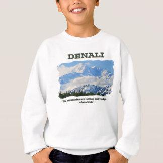 Denali intrépido/las montañas está llamando… J Sudadera