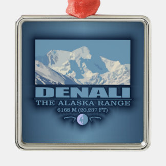 Denali Metal Ornament