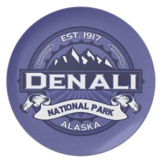 Denali Midnight Melamine Plate