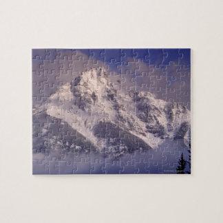 Denali mountain range Alaska Puzzle