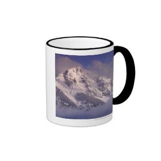 Denali mountain range, Alaska Ringer Mug