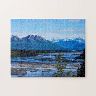 Denali Mountain Range Jigsaw Puzzle