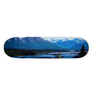 Denali Mountain Range Skateboard