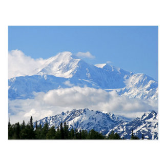 Denali / Mt McKinley Alaska Postcard